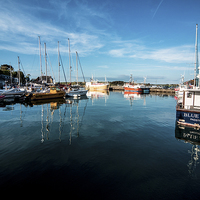 Buy canvas prints of Padstow Harbour by Rob Hawkins