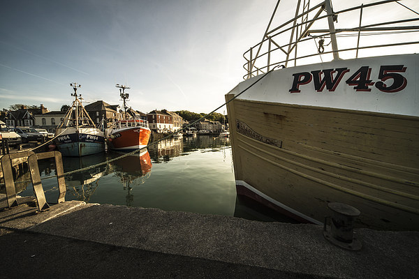 Padstow Boats Canvas print by Rob Hawkins
