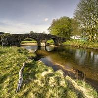 Buy canvas prints of  Dartmoor Bridge  by Rob Hawkins