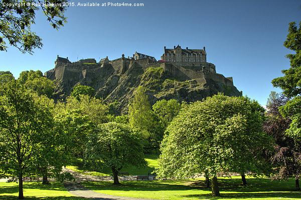 Edinburgh Castle Canvas Print by Rob Hawkins