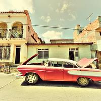 Buy canvas prints of Trinidad Edsel  by Rob Hawkins