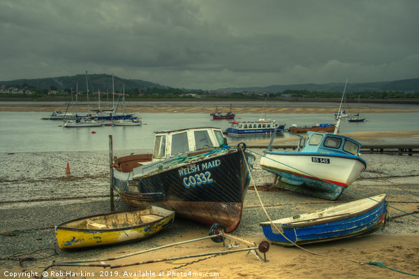 Welsh Maid of Conwy Canvas print by Rob Hawkins