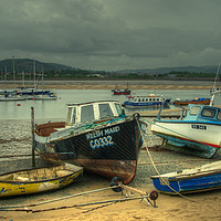 Buy canvas prints of Welsh Maid of Conwy by Rob Hawkins