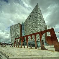 Buy canvas prints of Belfast titanic  by Rob Hawkins