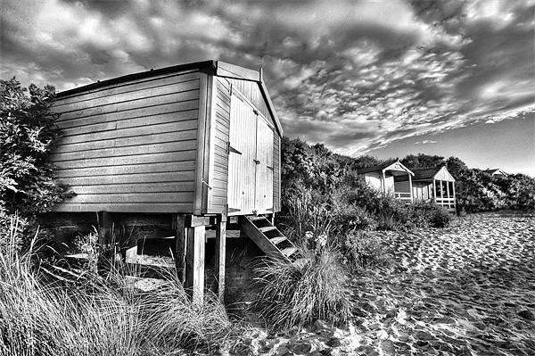 Hunstanton beach-hut Canvas print by Mike Sherman Photography