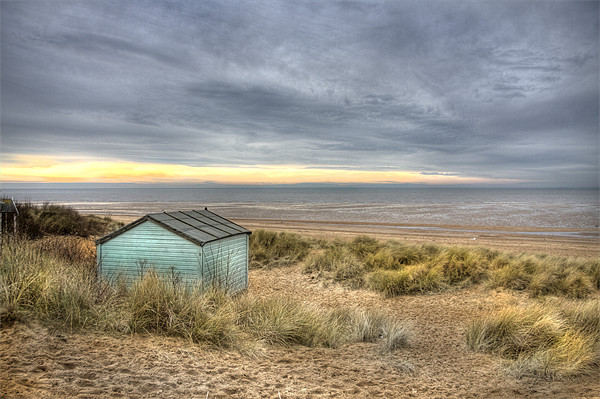 Old Hunstanton Canvas print by Mike Sherman Photography