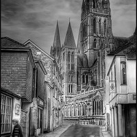 Buy canvas prints of Truro Cathedral by Mike Sherman Photography