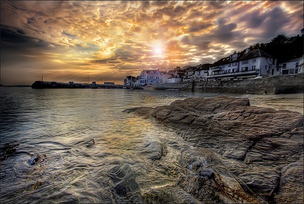 St. Mawes Canvas print by Mike Sherman Photography