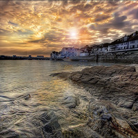 Buy canvas prints of St. Mawes by Mike Sherman Photography