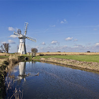 Buy canvas prints of Thurne Mill by Paul Macro