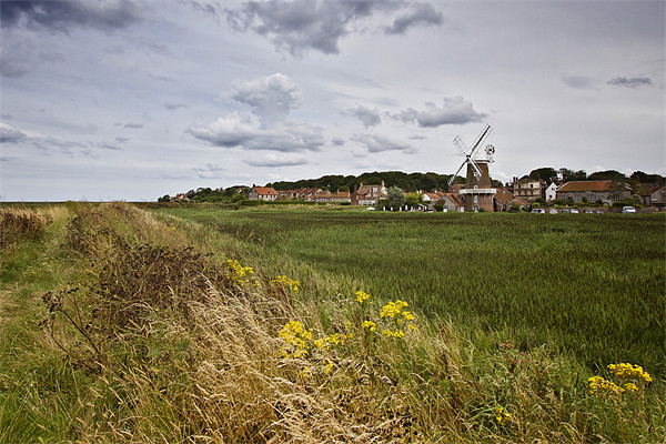 Cley Mill Framed Mounted Print by Paul Macro