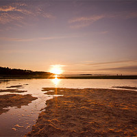 Buy canvas prints of Holkham Sunset by Paul Macro