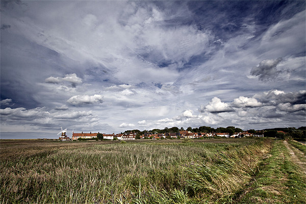 Big Skies over Cley Windmill Canvas print by Paul Macro