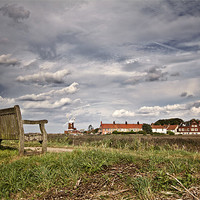 Buy canvas prints of Seat with a View of Cley by Paul Macro