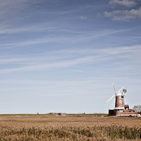 Buy canvas prints of Cley Windmill by Paul Macro