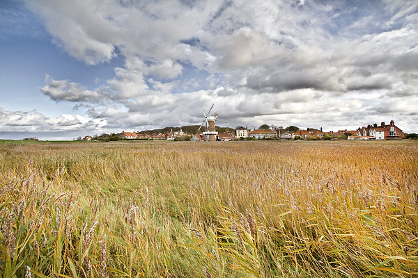 Colourful Cley Framed Mounted Print by Paul Macro