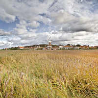 Buy canvas prints of Colourful Cley by Paul Macro