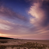 Buy canvas prints of Evening Colour in Holkham by Paul Macro