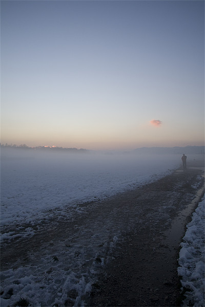 Icy mist Canvas print by Ian Middleton