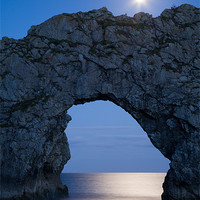 Buy canvas prints of Under the moonlight by Ian Middleton