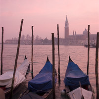 Buy canvas prints of Venetian sunset by Ian Middleton