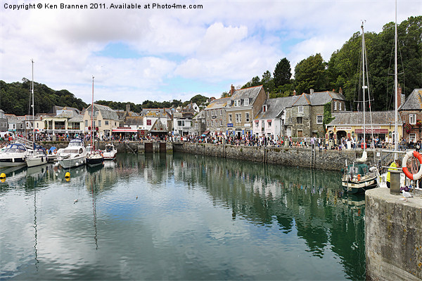 Padstow Harbour Cornwall Canvas Print by Aviation Prints