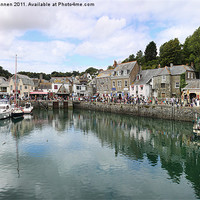 Buy canvas prints of Padstow Harbour Cornwall by Aviation Prints