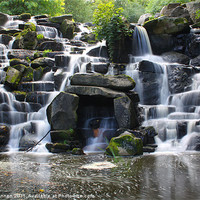 Buy canvas prints of Waterfall by Aviation Prints
