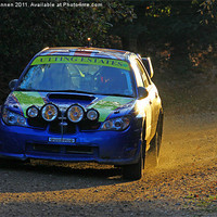 Buy canvas prints of Tempest Rally Impreza by Aviation Prints