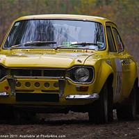 Buy canvas prints of Ford Rally Escort by Aviation Prints
