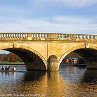 Buy canvas prints of Regatta under the Bridge by Aviation Prints