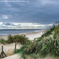 Buy canvas prints of Camber Sands Beach Dunes by Aviation Prints