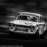 Buy canvas prints of Ford Escort Mk1 tempest rally by Aviation Prints