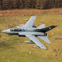 Buy canvas prints of  Tornado low level by Ken Brannen