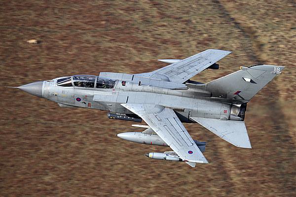 Tornado GR4 flying low Canvas Print by Ken Brannen