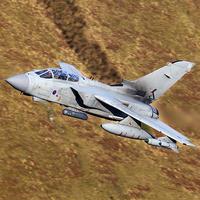 Buy canvas prints of  Tornado GR4 low level by Ken Brannen