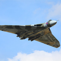 Buy canvas prints of Avro Vulcan XH558 Bomb bay open by Aviation Prints