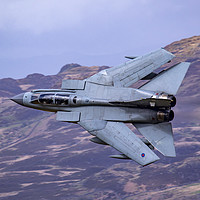 Buy canvas prints of Swept 41 Sqn Tornado GR4 by Oxon Images