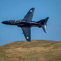 Buy canvas prints of Hawk Mk1 Low Level by Oxon Images