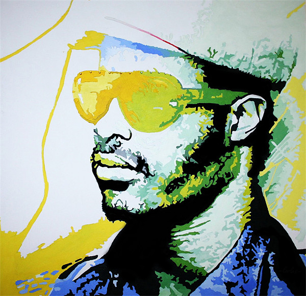 Stevie's Wonder-ful Print by Toon Photography
