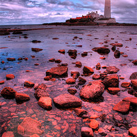 Buy canvas prints of St Marys Island Rocks by Toon Photography