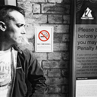 Buy canvas prints of No Smoking at the Station by Johanna Garlike