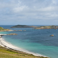 Buy canvas prints of St Martin's Island by David Wilkins
