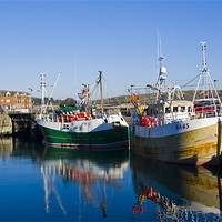 Buy canvas prints of Padstow Harbour by David Wilkins