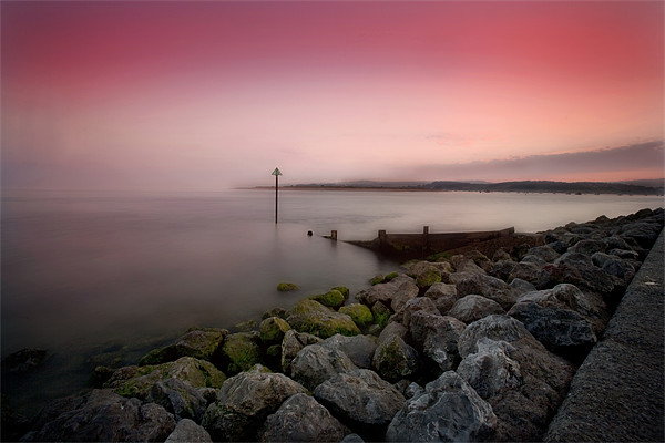 Exmouth evening Canvas print by David Hare