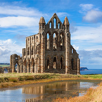 Buy canvas prints of Whitby Abbey by David Hare