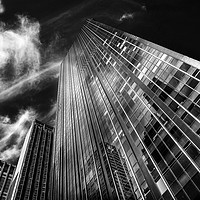 Buy canvas prints of Towers and clouds by David Hare