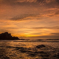 Buy canvas prints of Pacific Sunset by David Hare