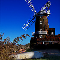 Buy canvas prints of Cley Windmill by Roy Scrivener