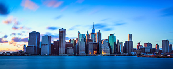 Manhattan Skyline Canvas Print by Chris Owen